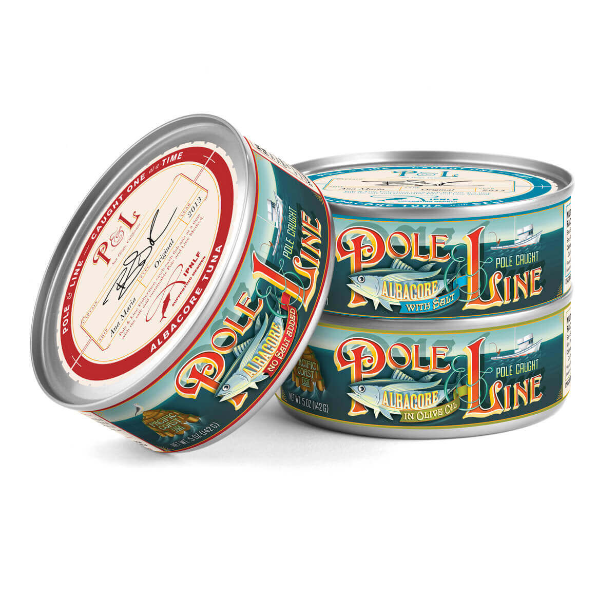 Pole & Line Tuna Packaging Hero Image
