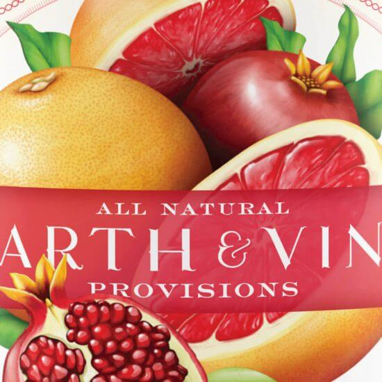 Earth and Vine Provisions Packaging