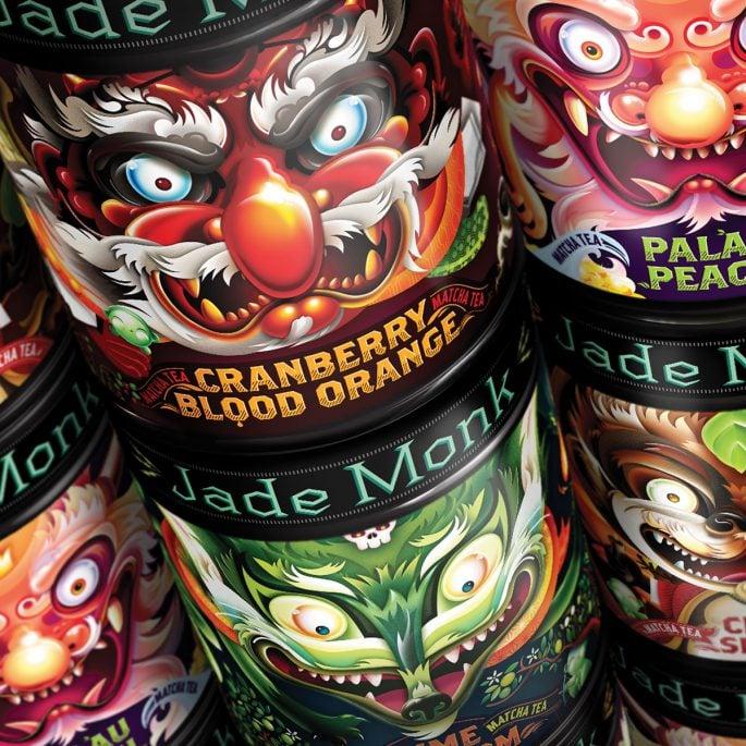 Jade Monk Packaging