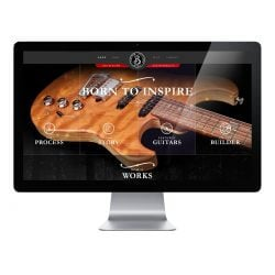 Born Guitars Website