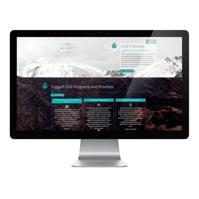 Geological Society of America Foundation Website