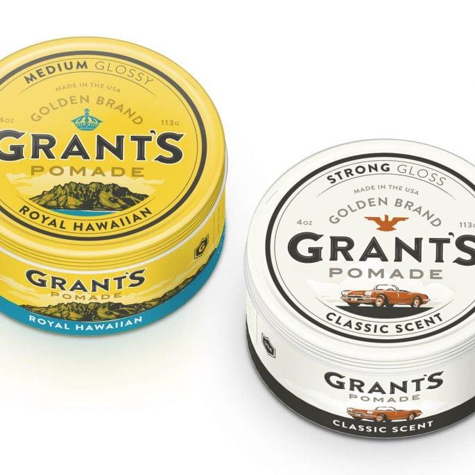 Grant's Pomade Branding & Packaging