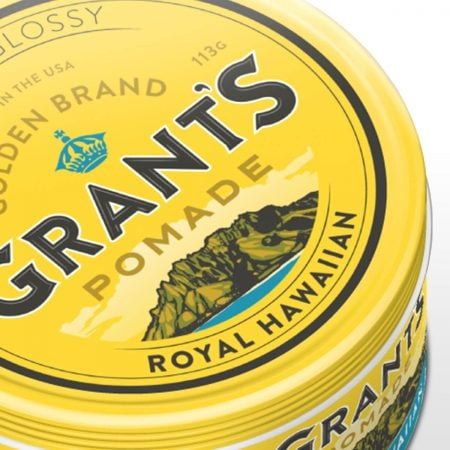 Grant's Pomade Branding & Packaging