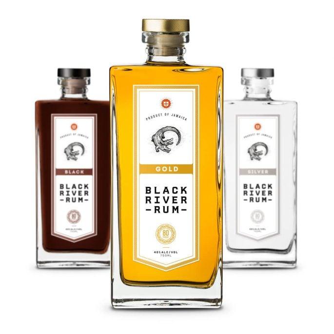 Black River Rum Packaging