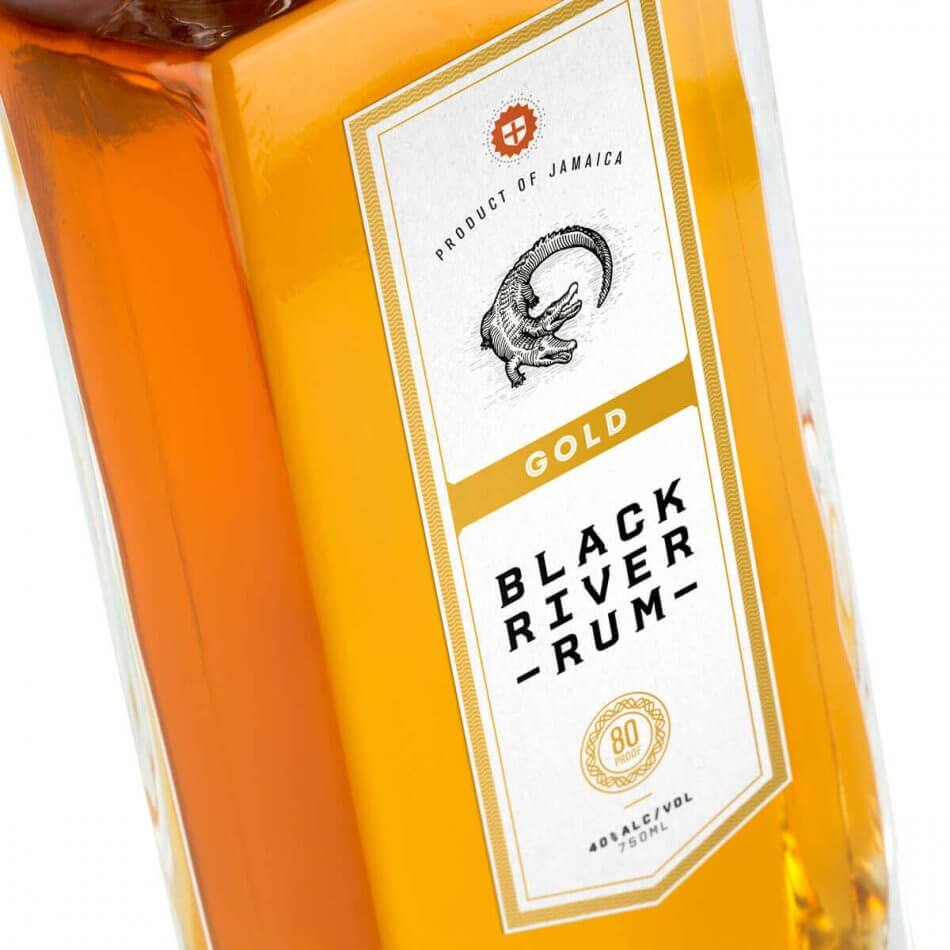 Black River Rum Packaging