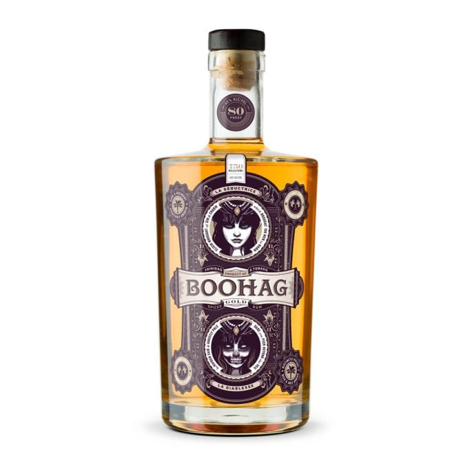 Boohag Spiced Rum Packaging