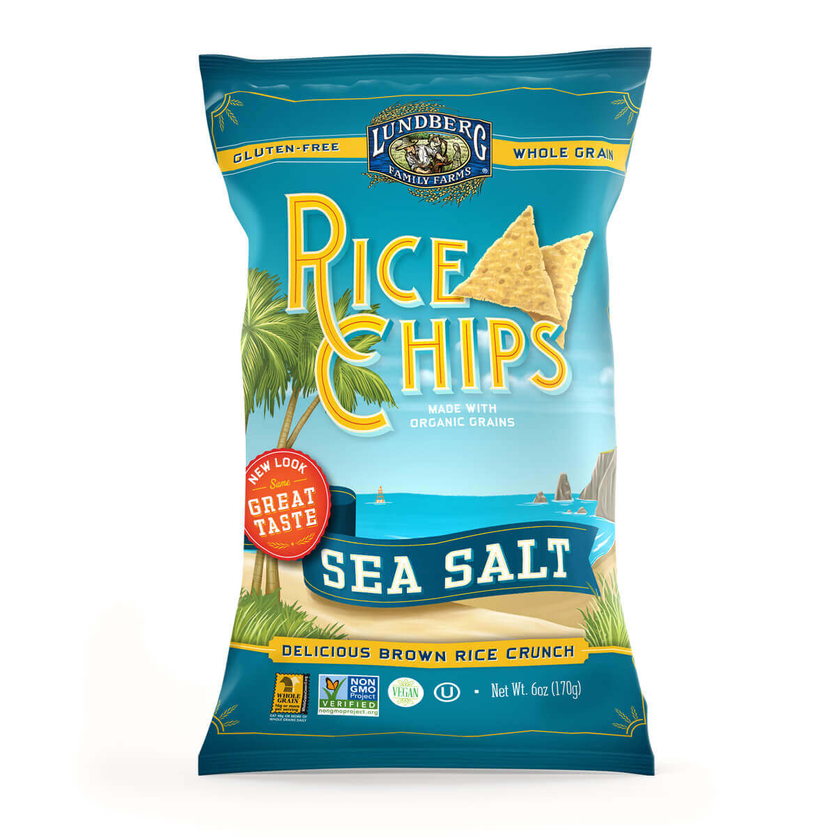 Rice Chip Packaging Hero Image