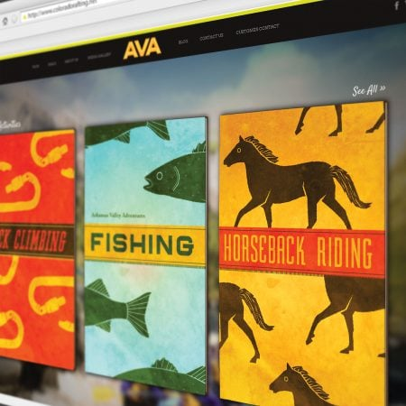 AVA Rafting Website