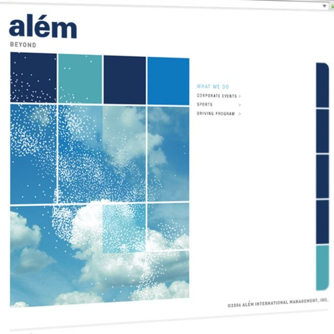 Além International Website