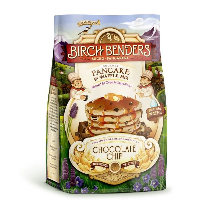 Birch Benders Packaging