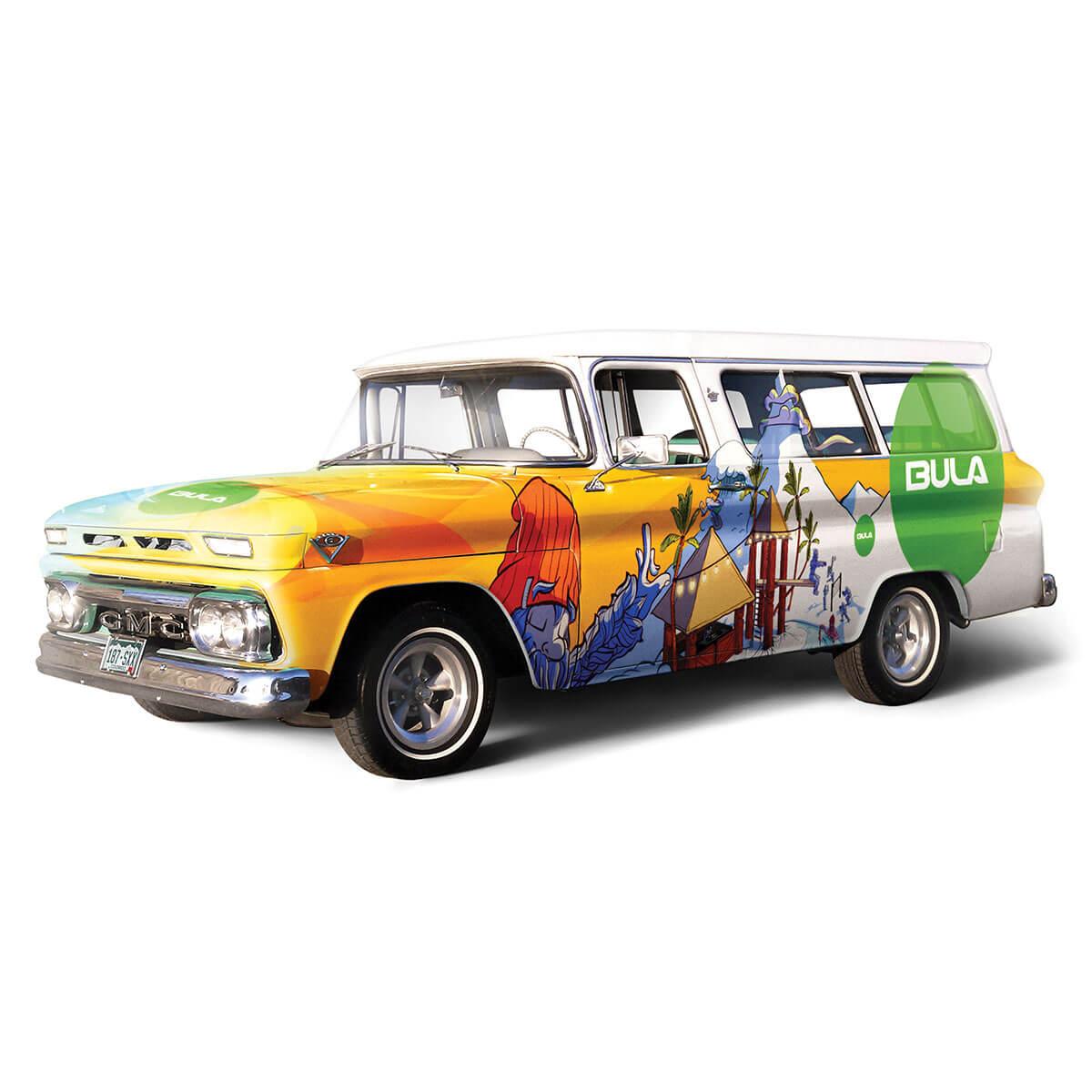 Branding, Product Catalog & Truck Wrap Hero Image