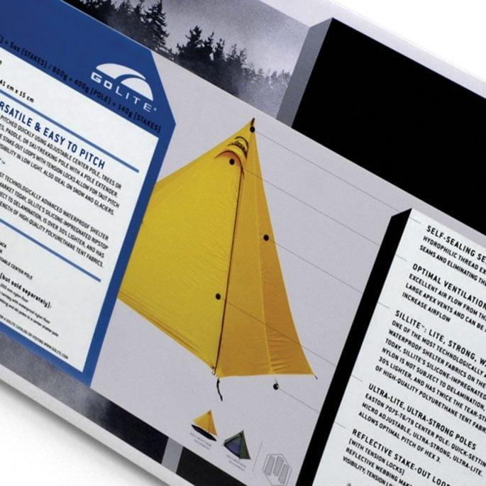 GoLite Tent Packaging