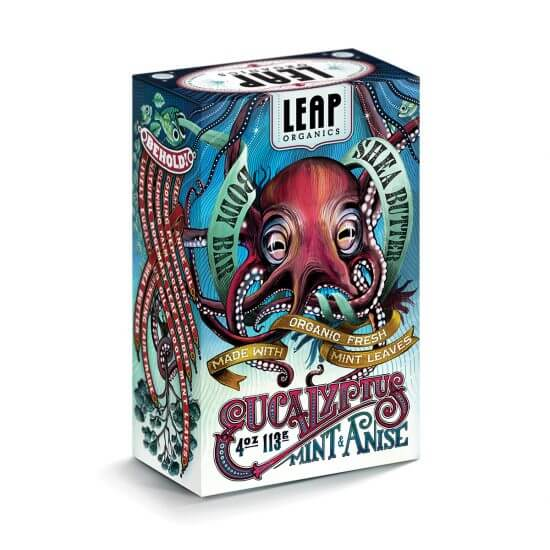 LEAP Organics Packaging