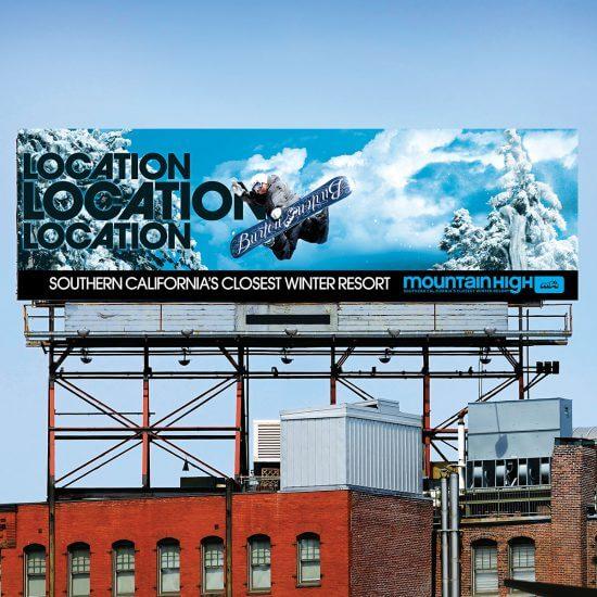 Mountain High Ski Resort Ad Campaign