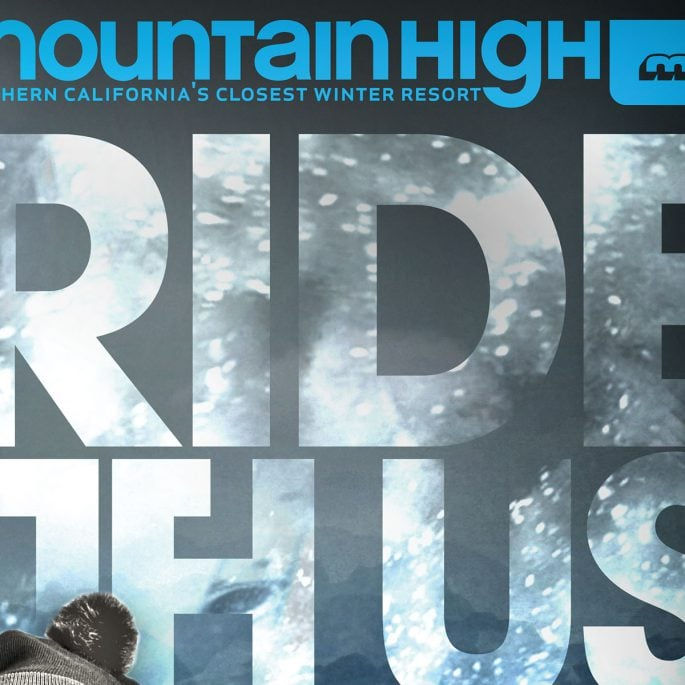 Mountain High Ski Resort Ad Campaign