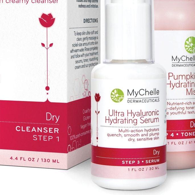 MyChelle Dermaceuticals Packaging