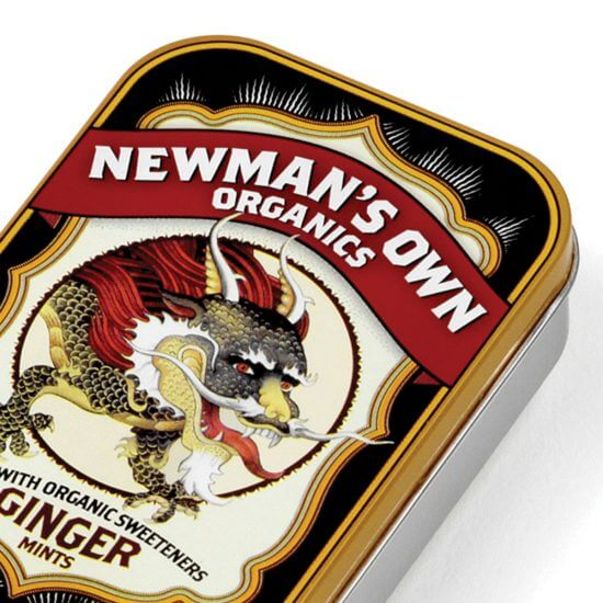Newmans Own Organics Packaging