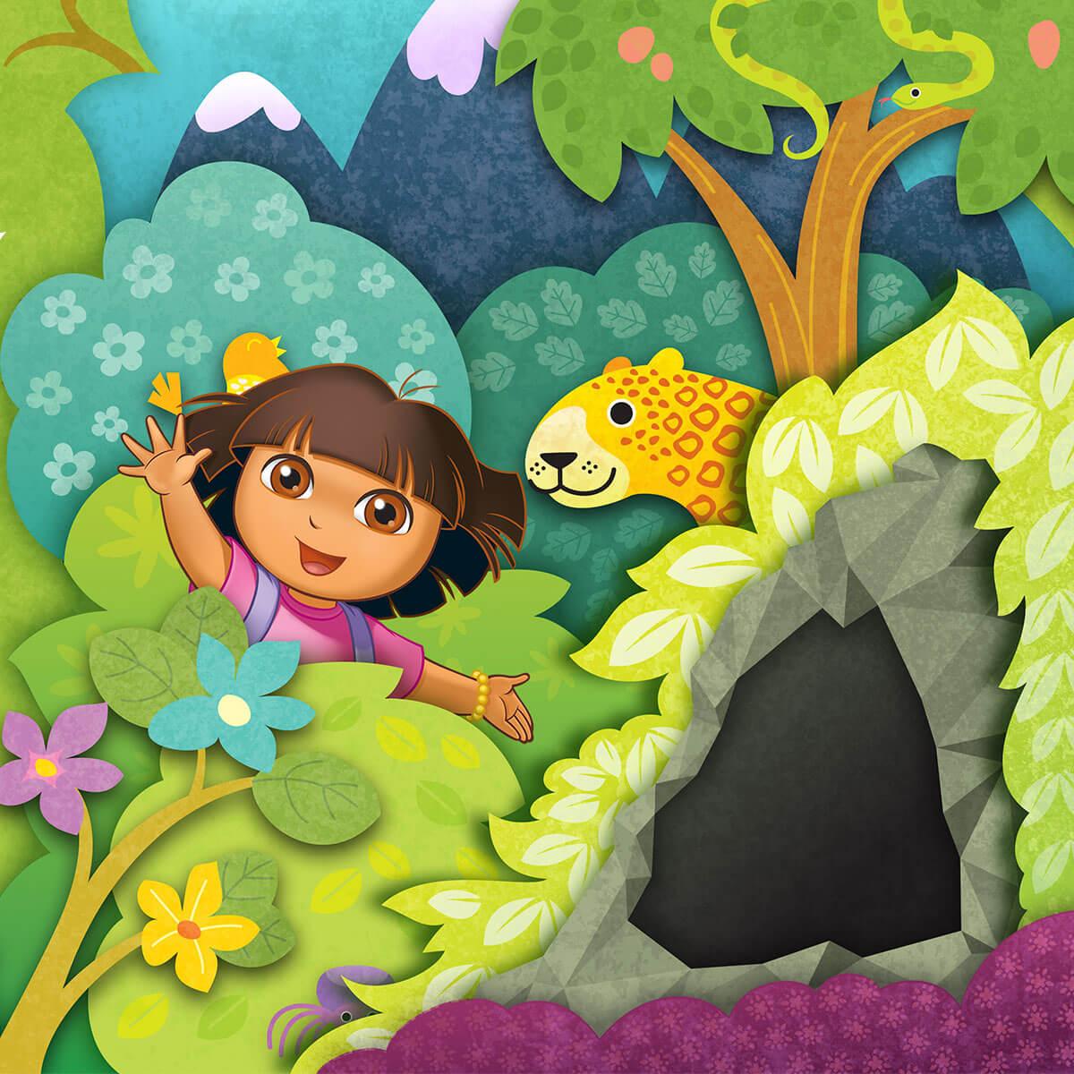 Dora the Explorer Packaging Hero Image