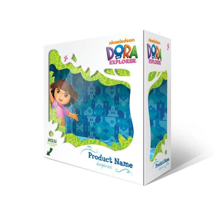Nickelodeon Dora the Explorer Packaging