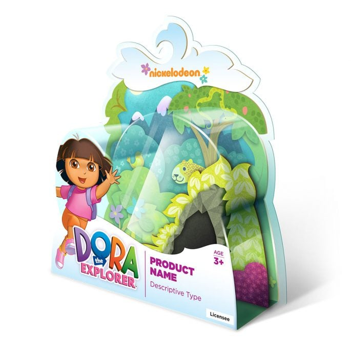 Nickelodeon Dora the Explorer Packaging