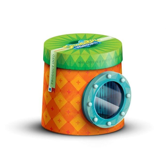 Nickelodeon Spongebob Squarepants Packaging