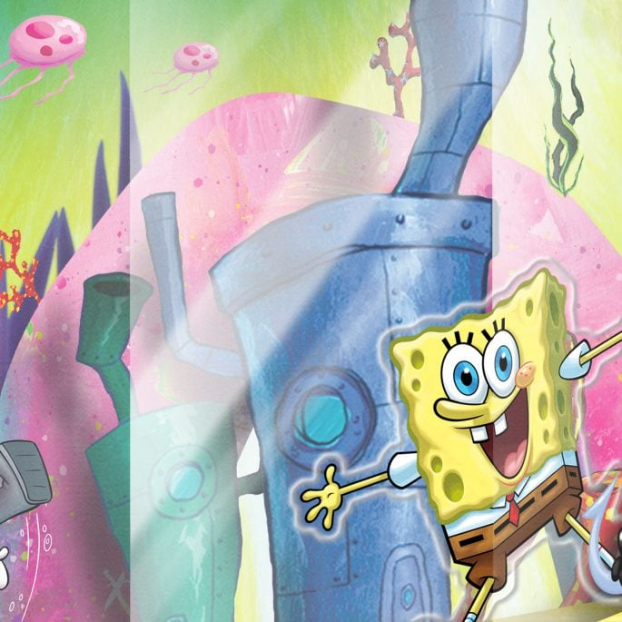 Nickelodeon Spongebob Squarepants Packaging
