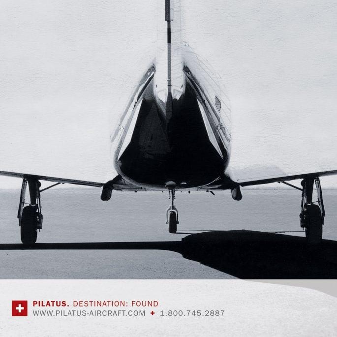 Pilatus Aircraft Ad Campaign