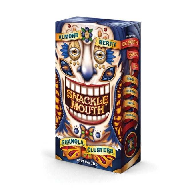 Snackle Mouth Packaging