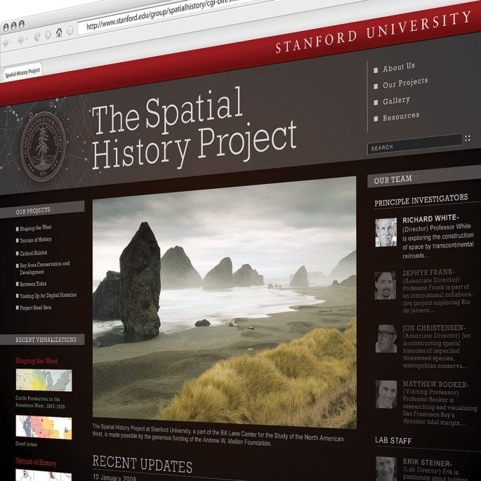 Stanford University Website