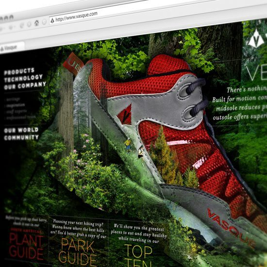Vasque Website Concepts