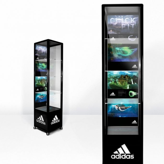 Adidas Eyewear Display Graphics