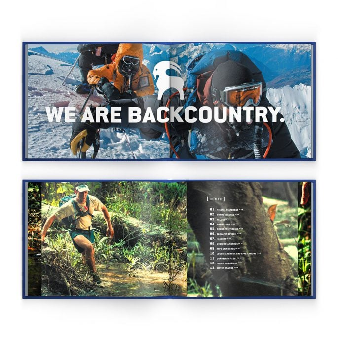 Backcountry Branding