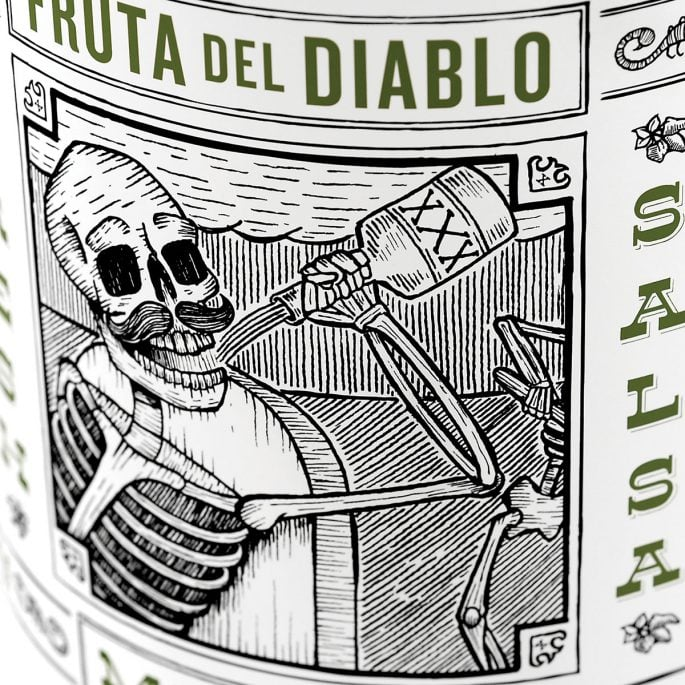 Fruta Del Diablo Packaging