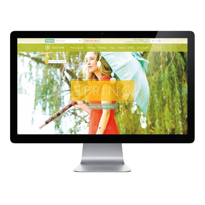 Gaiam Website