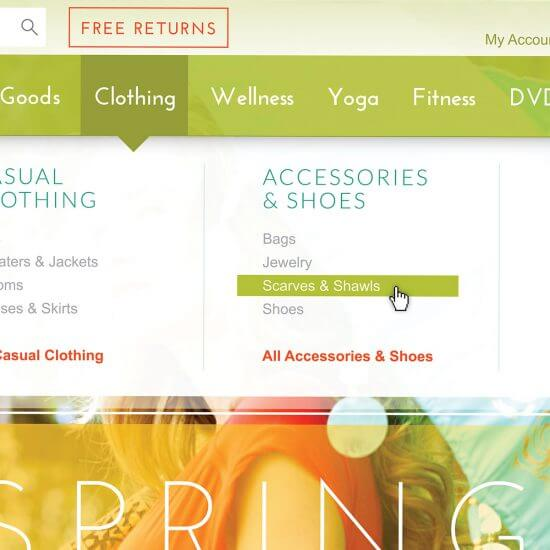 Gaiam Website