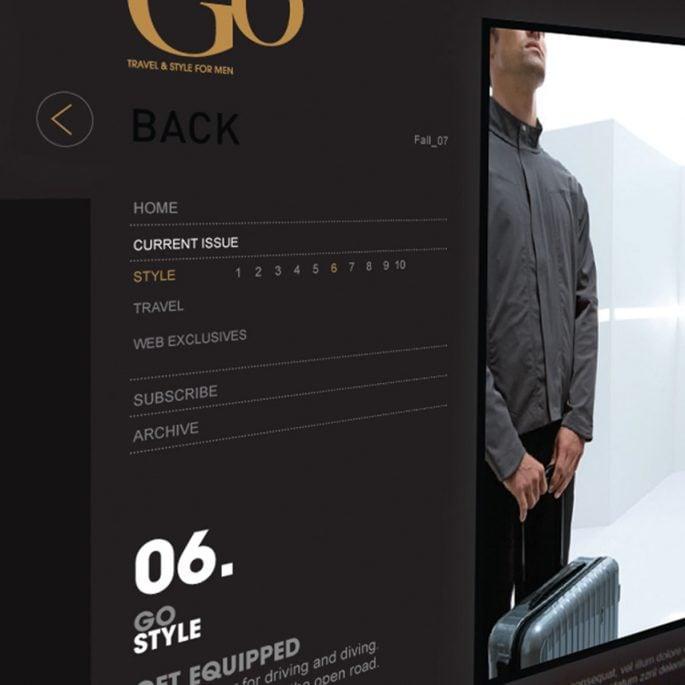 Outside Go Website Concepts
