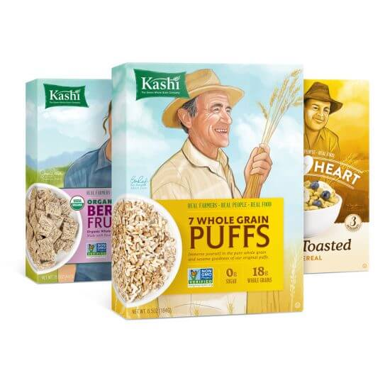 Kashi Packaging Concepts