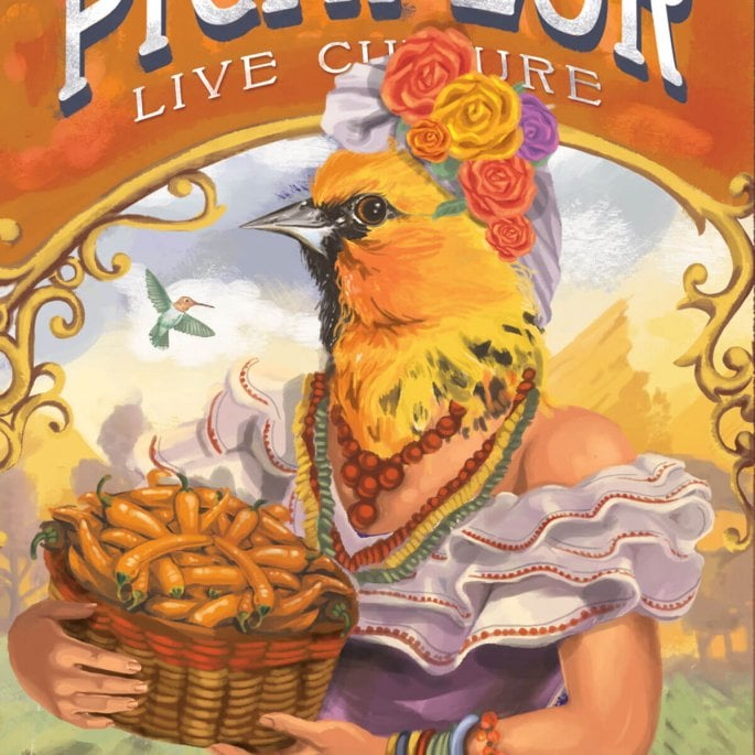 Picaflor Hot Sauce Packaging