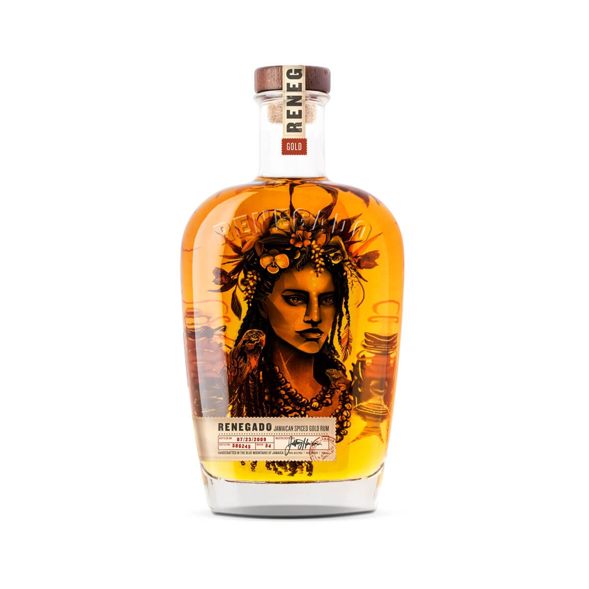 Jamaican Spiced Rum Packaging Hero Image