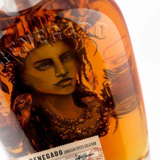 Renegado Jamaican Spiced Rum Packaging