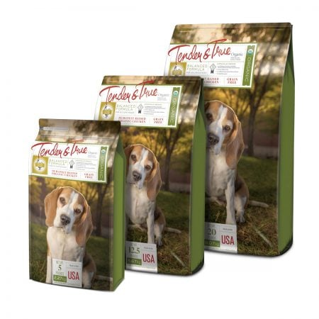 Tender & True Pet Food Packaging