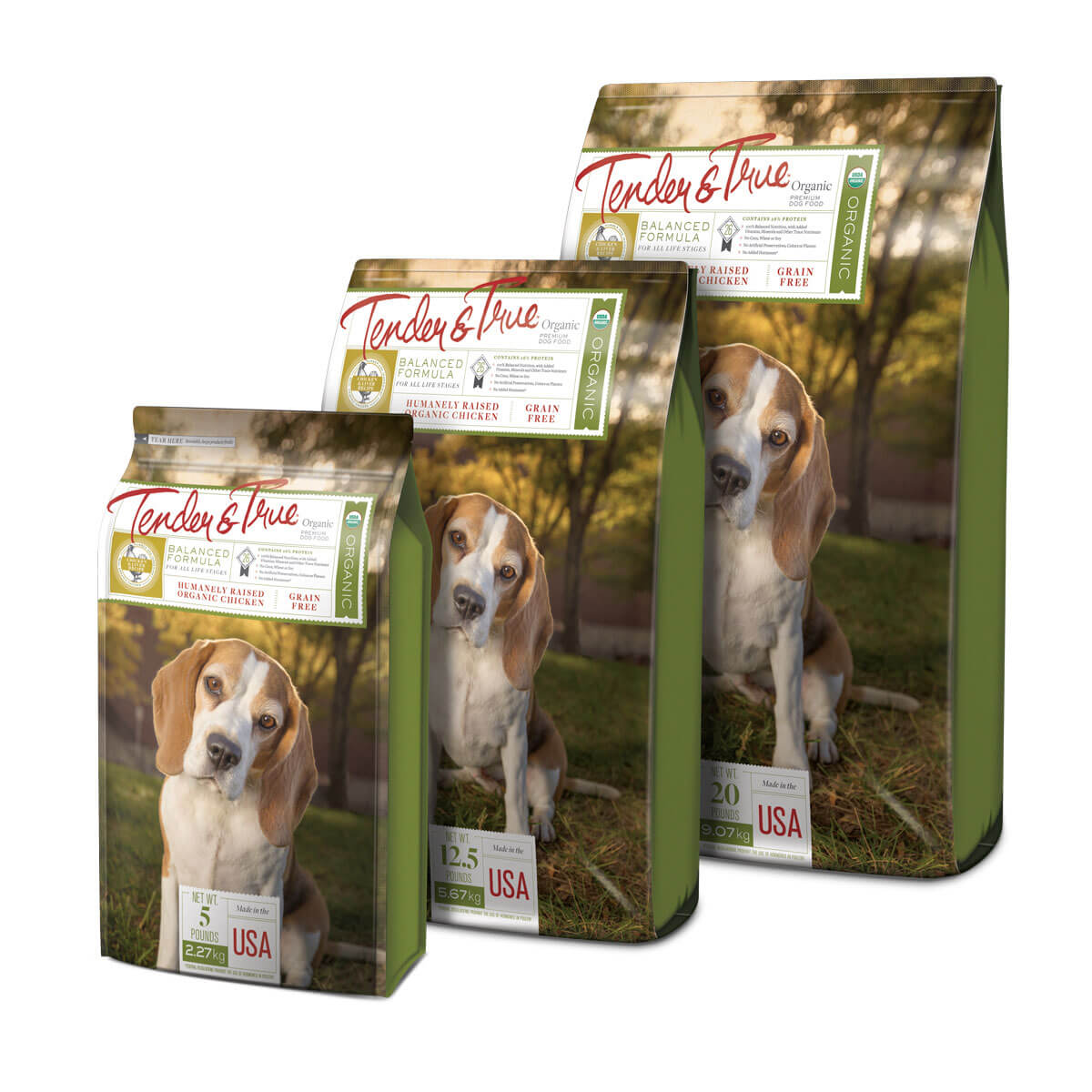 Pet Food Packaging Hero Image