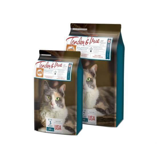 Tender & True Pet Food Packaging