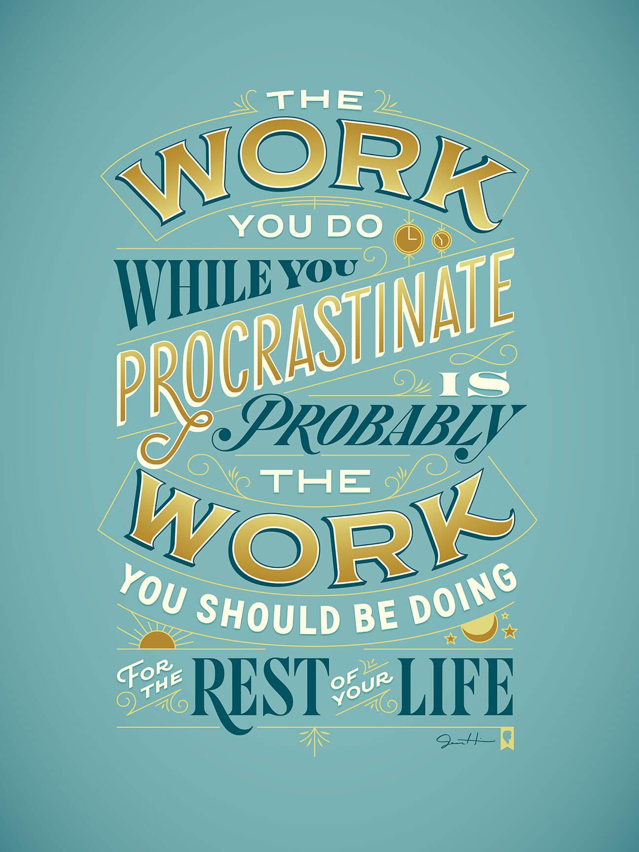 procrastiworking