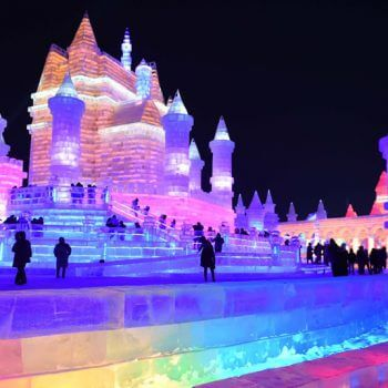 Harbin International Ice Snow Sculpture Festival Moxie