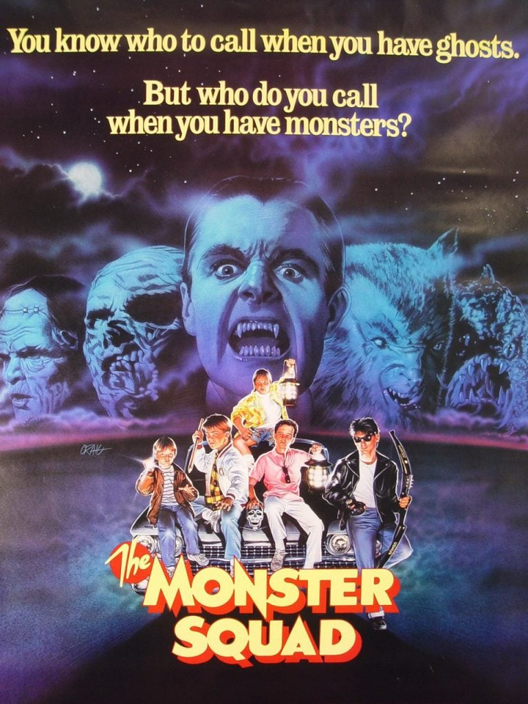 The-Monster-Squad-1987-Poster