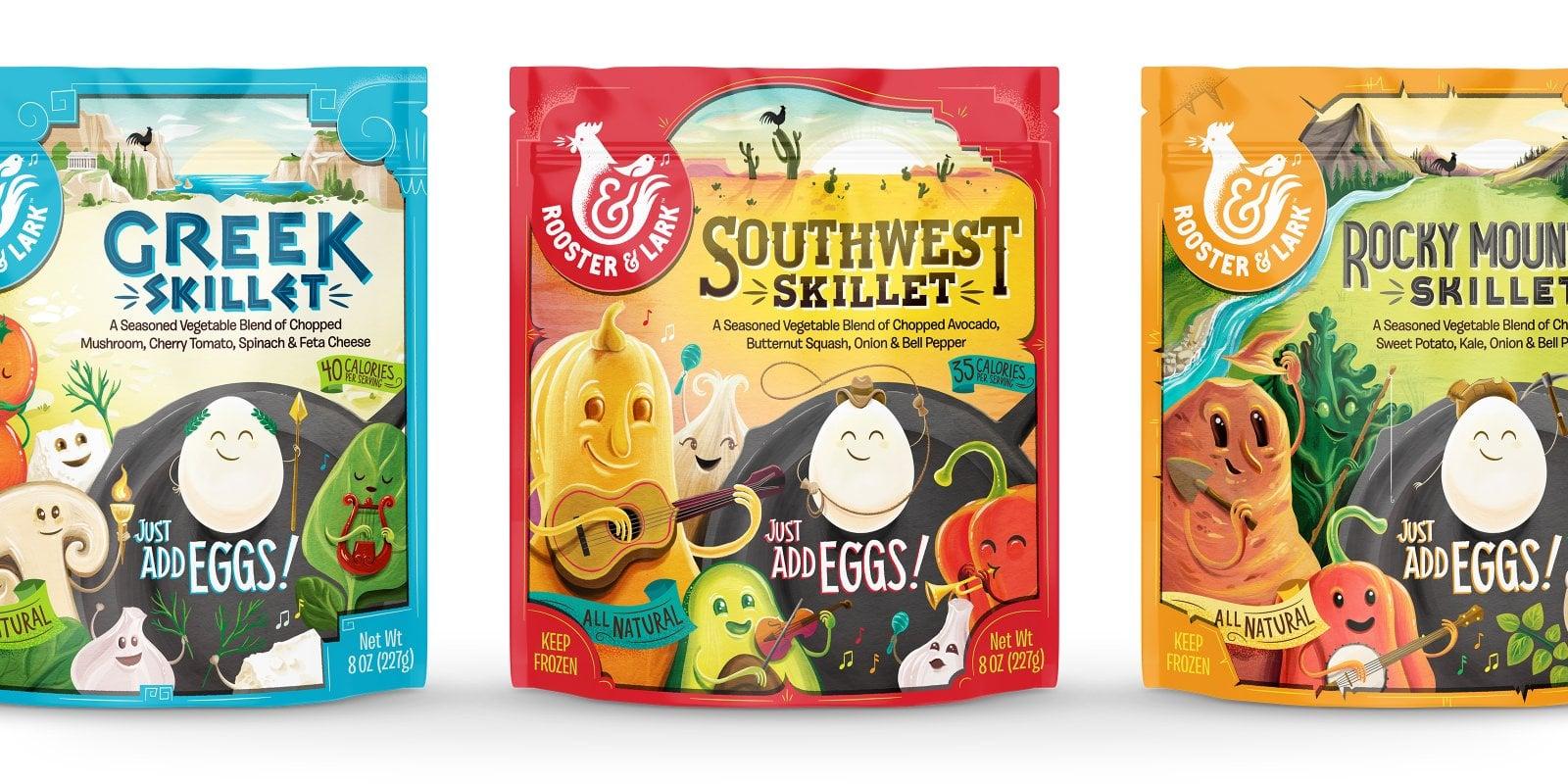 Rooster & Lark Skillet Packaging-Banner Image