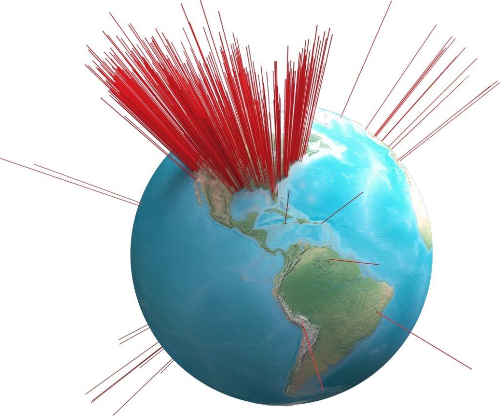 Map-Globe (Americas)